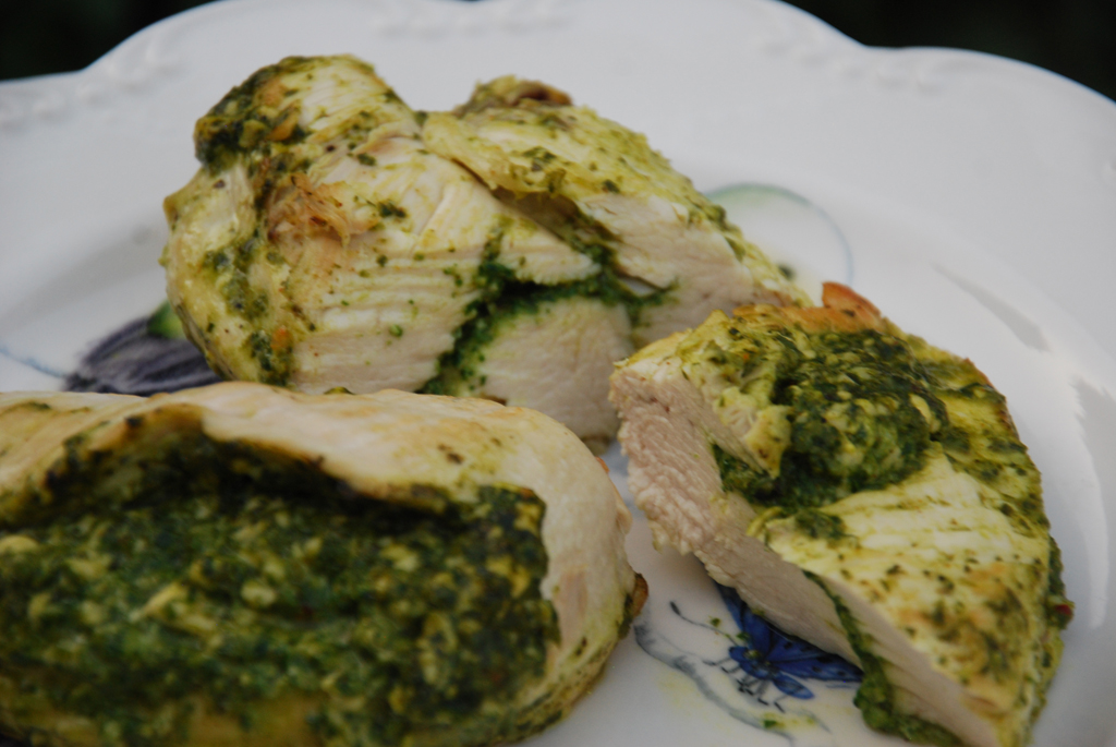 Cheesy Spinach Stuffed Chicken Breast - Kathy Kaehler's Sunday Set-Up ...