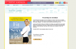 Fit and Sexy for Life e-book