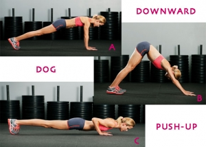 Downward Dog Pushup
