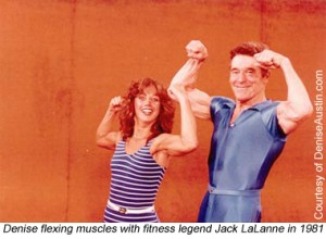 Denise Austin and Jack LaLanne