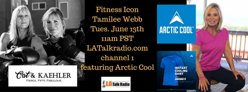 Cat & Kaehler Channel 1 – Fitness Icon Tamilee Webb – May 30th at 11am PST – 2pm EST